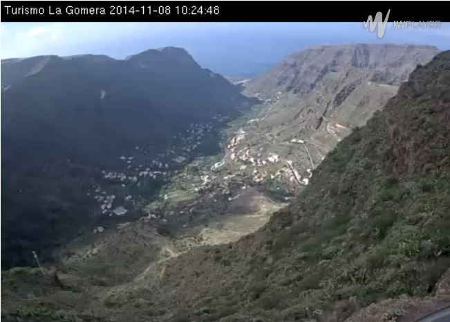 webcam Valle Gran Rey Playa Santa Cruz de Tenerife