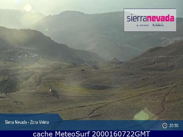 webcam Granada Sierra Nevada Granada