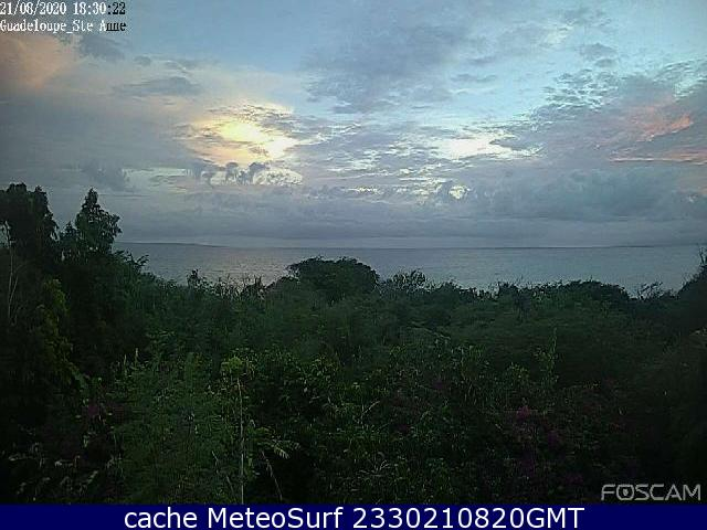 webcam Sainte Anne Guadeloupe Guadalupe