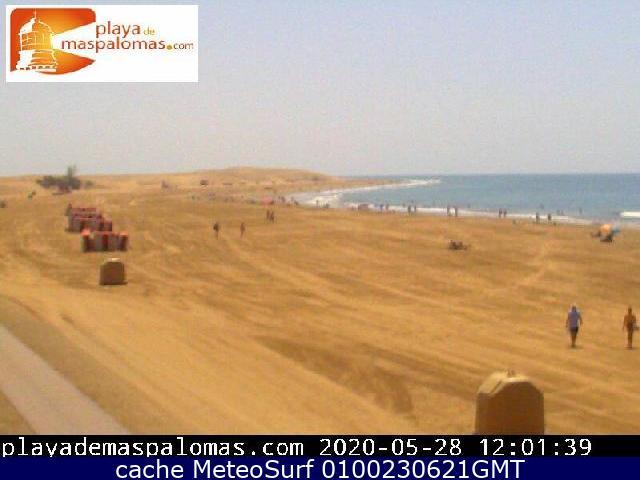 webcam Maspalomas Hamacas Las Palmas