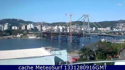 webcam Florianopolis Ponte Hercilio Florianópolis