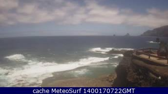 webcam El Hierro Frontera Santa Cruz de Tenerife