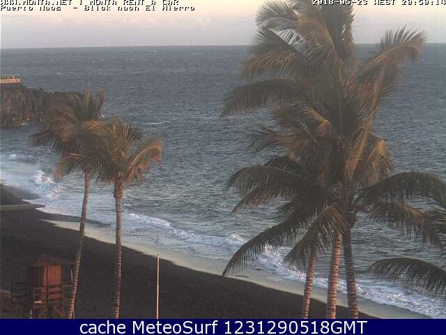 webcam El Hierro Puerto Naos Santa Cruz de Tenerife