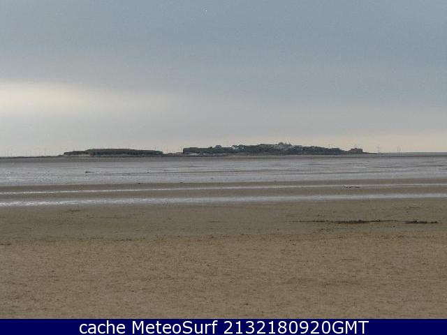 webcam Hilbre Island North West