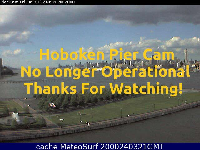 webcam Hoboken Hudson