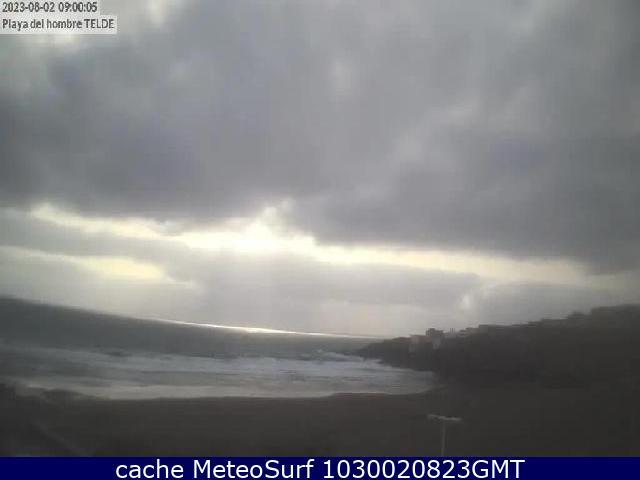 webcam Playa del Hombre Las Palmas