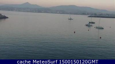 webcam Hondarribia Guipúzcoa