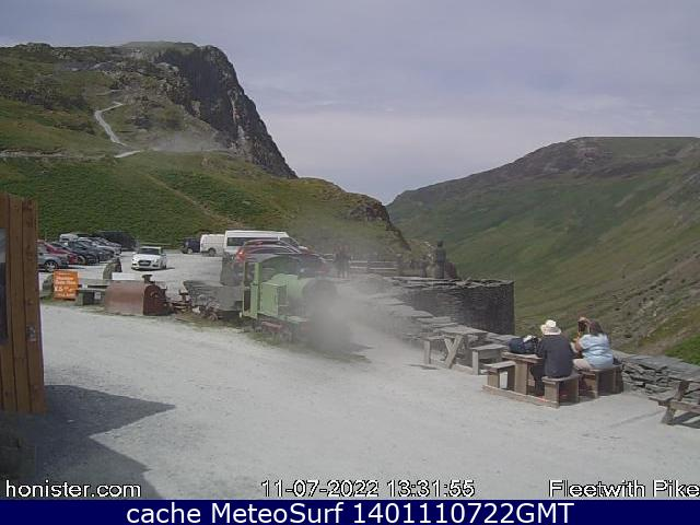 webcam Honister Pass North West