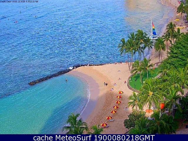 webcam Waikiki Beach Honolulu