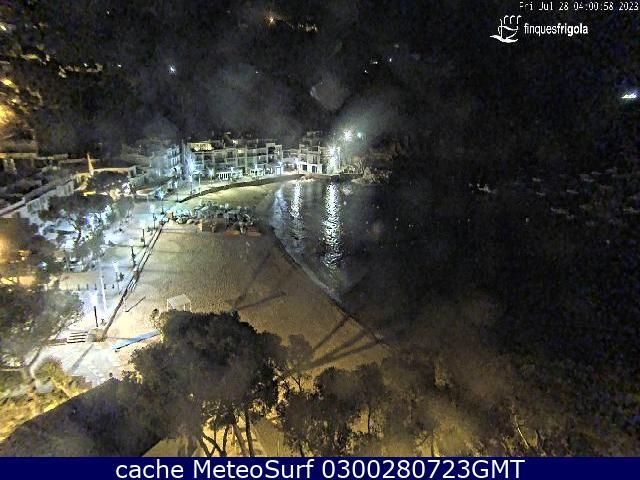 webcam Tamariu Costa Brava Gerona