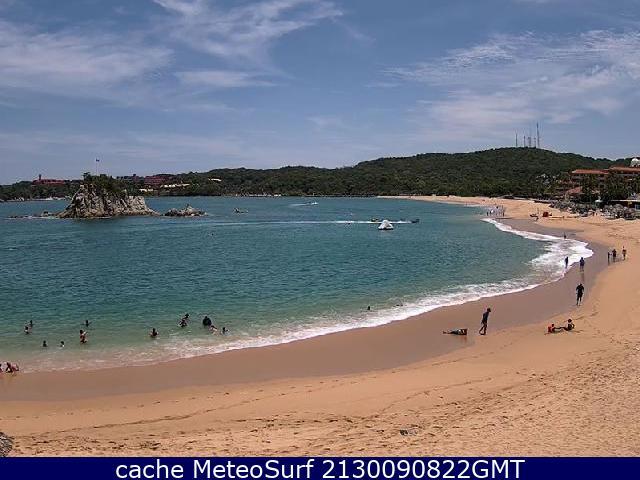 webcam Huatulco Santa Maria de Huatulco
