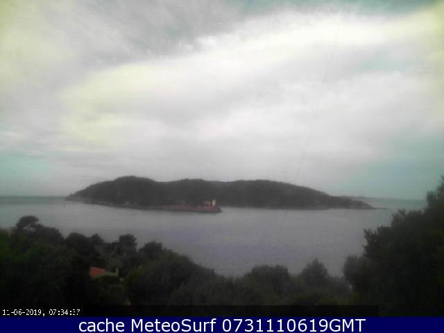 webcam Île de Port Cros Var