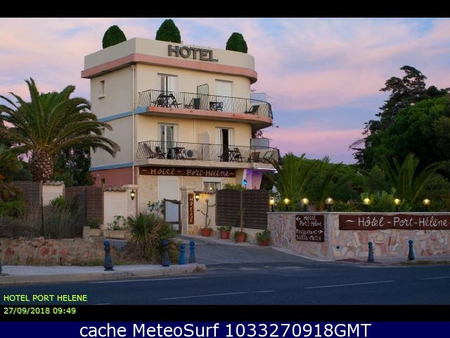 webcam Hyères Hotel Var