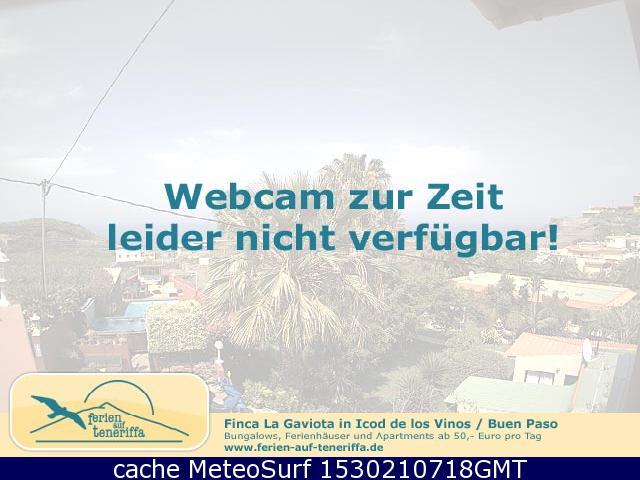 webcam Icod de los Vinos Santa Cruz de Tenerife