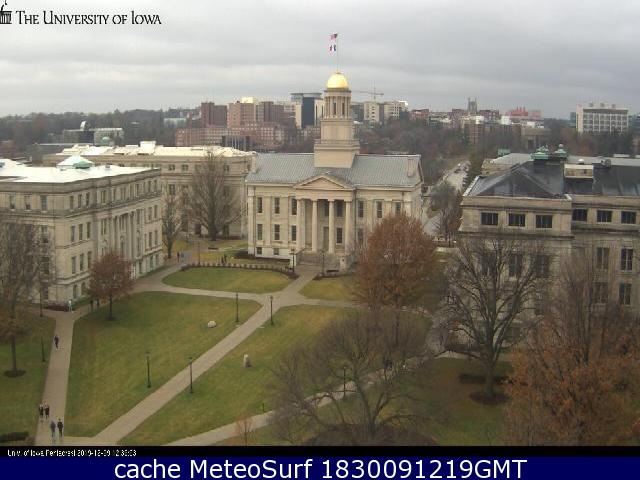 webcam Iowa City Johnson