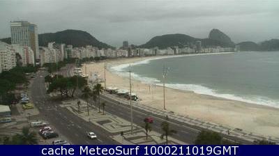 webcam Ipanema Rio de Janeiro