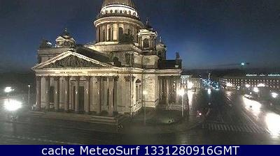 webcam St Isaac Cathedral San Petersburgo