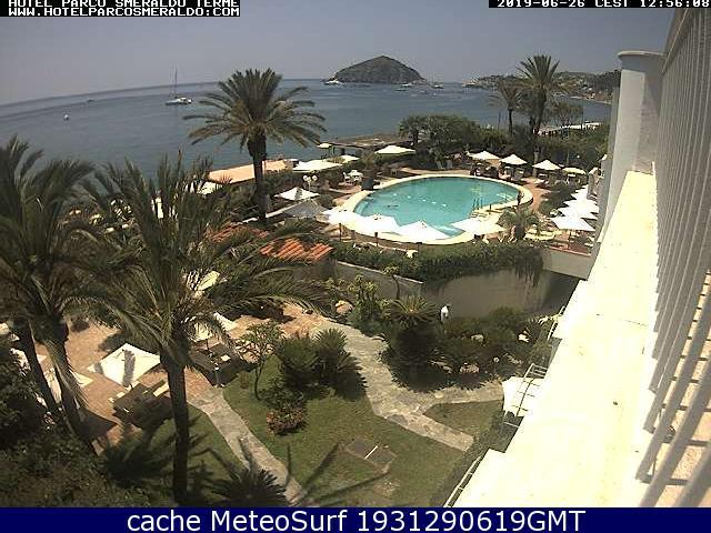 webcam Maronti Hotel Nápoles