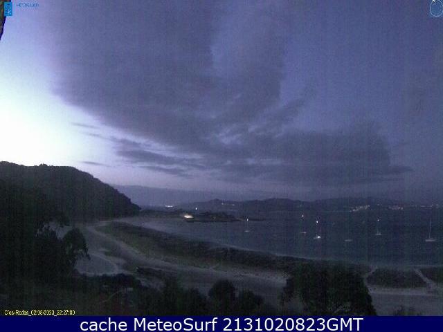 webcam Islas C�es Pontevedra