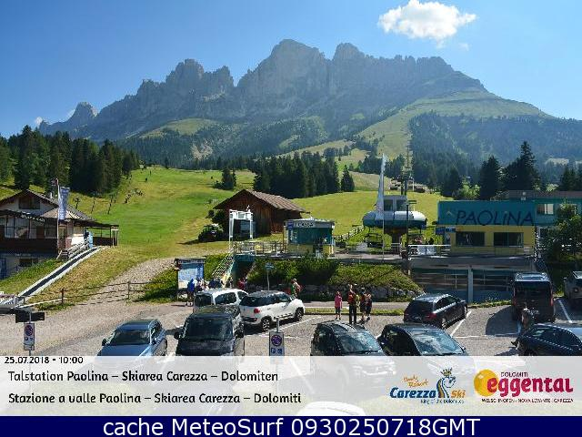 webcam Karersee Ski Bolzano