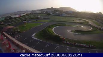 webcam Karting Tenerife Santa Cruz de Tenerife
