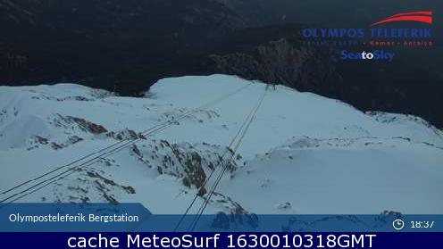 webcam Olympos Teleferik Antalya