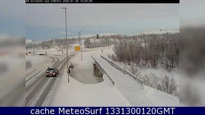 webcam Kirkenes Finnmark