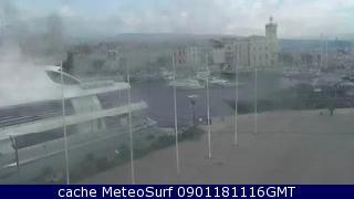 webcam La Ciotat Port Bouches du Rhône