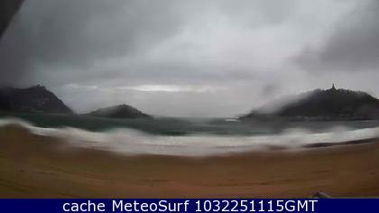 webcam La Concha Donostia Guip�zcoa