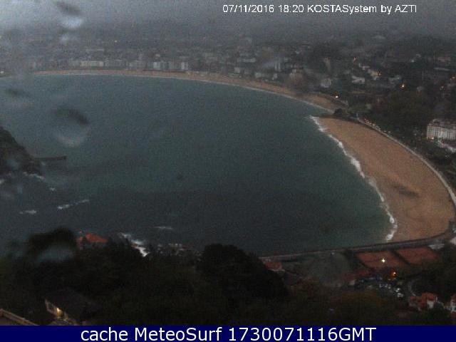 webcam La Concha San Sebastian Guip�zcoa