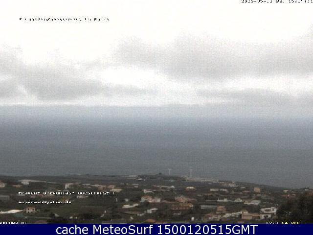 webcam Villa de Mazo Santa Cruz de Tenerife