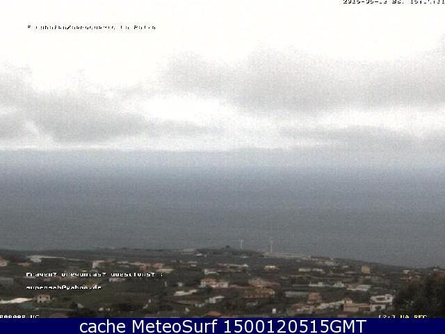 webcam Villa de Mazo Santa Cruz de Tenerife