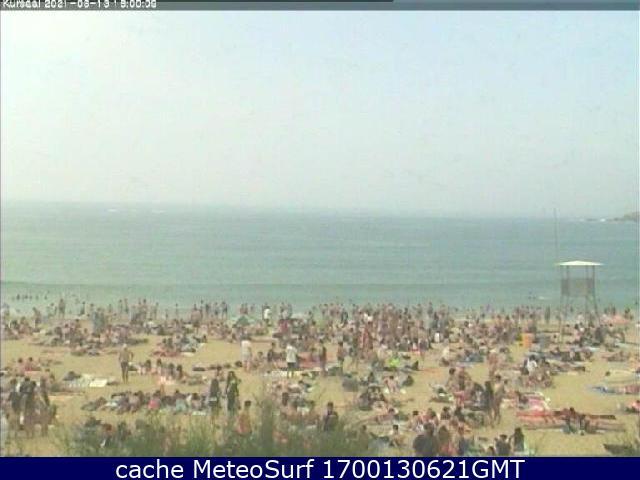 webcam La Zurriola Donostia Kursaal Guip�zcoa