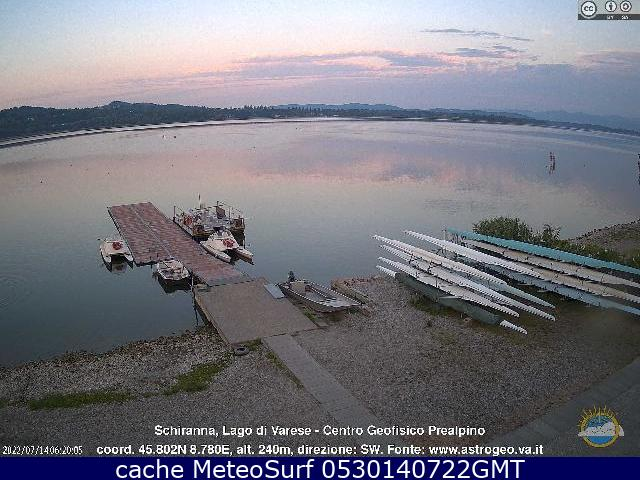 webcam Lago di Varese Varese