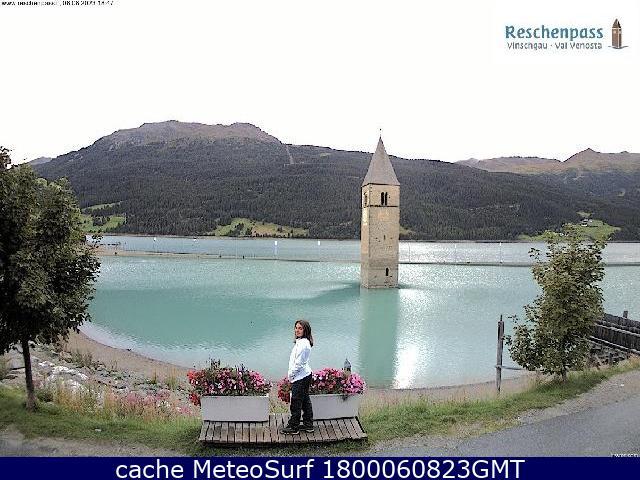 webcam Lago di Resia Bolzano