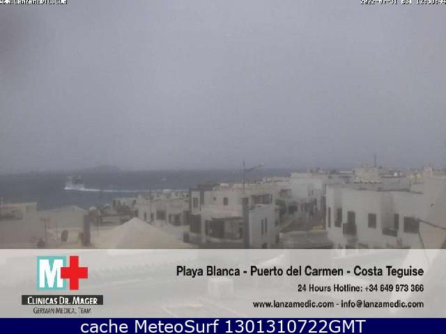 webcam Hotel Iberostar Lanzarote Playa Blanca Las Palmas
