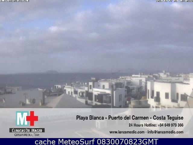 webcam Lanzarote Playa Blanca Las Palmas
