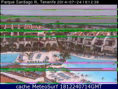 webcam Las Americas Hotel Parque Santiago Santa Cruz de Tenerife