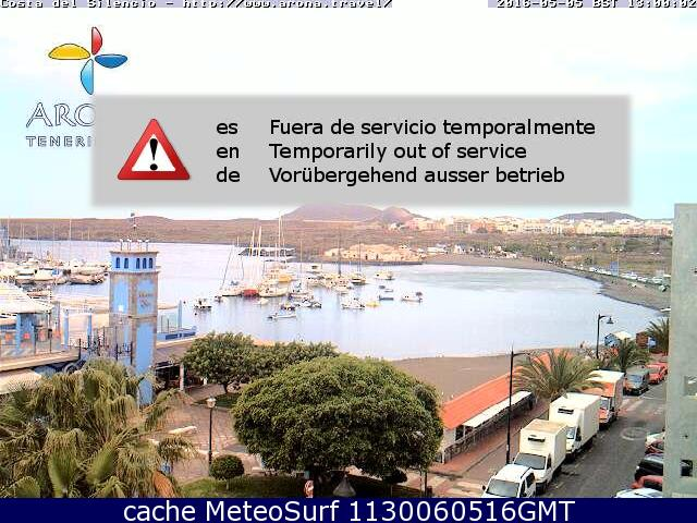 webcam Playa de Las Galletas Santa Cruz de Tenerife