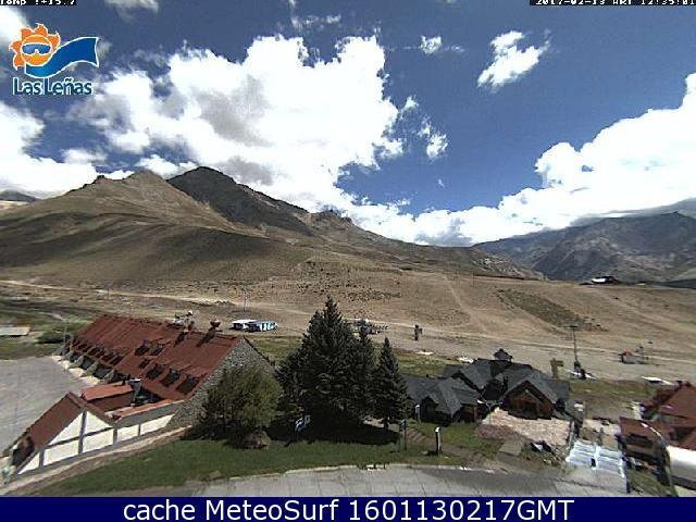 webcam Las Leñas Malargüe