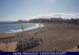 webcam Las Vistas Los Cristianos Santa Cruz de Tenerife