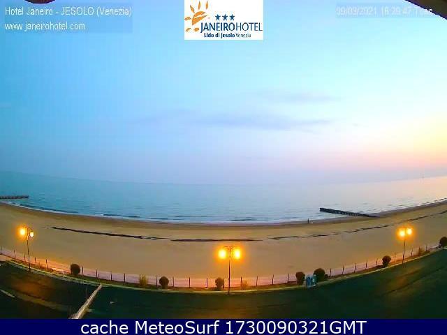 webcam Lido di Jesolo Venecia