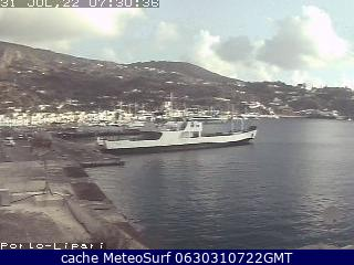 webcam Lipari Messina