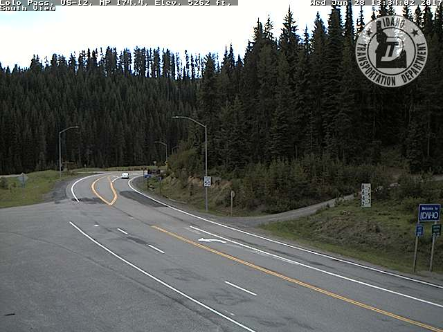 webcam Lolo Pass Idaho