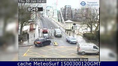 webcam Albert Bridge Rd Londres