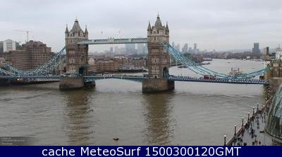 webcam Tower Bridge Londres