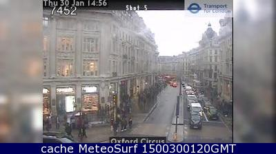 webcam London Oxford Street Londres