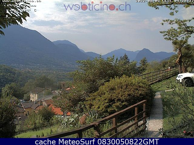 webcam Lopagno Lugano