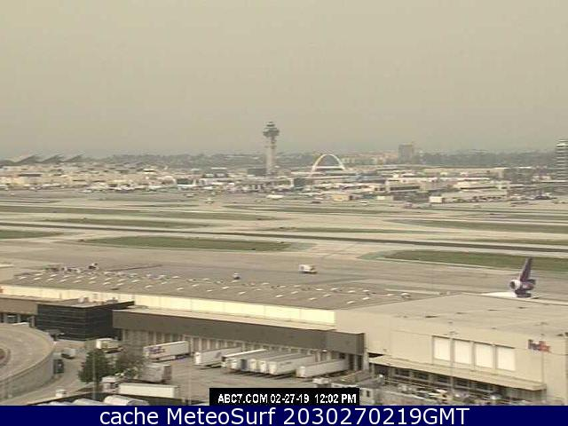 webcam Los Angeles Airport Los Angeles