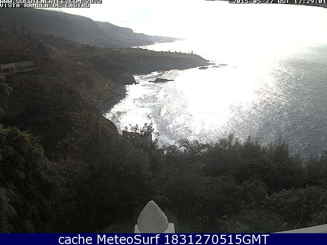 webcam Rambla de Castro Los Realejos Santa Cruz de Tenerife